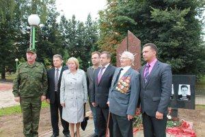 На Смоленщине установлен монумент павшим воинам  - Героям Советского Союза