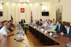 Вячеслав Калинин принял участие во встрече губернатора Ивановской области с кандидатами в депутаты