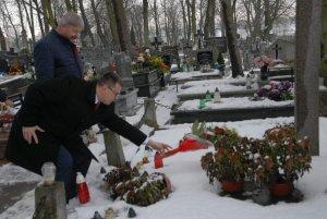 Власти польского Влоцлавека почтили память советских воинов-освободителей