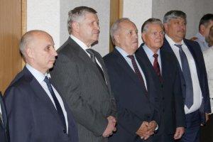 Торжественное открытие портретной галереи руководителей подмосковного Главка МВД