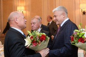 В МВД России состоялся торжественный приём, посвящённый Дню сотрудника органов внутренних дел