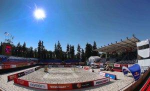 Центр пляжных видов спорта «Динамо» на Водном стадионе станет основной площадкой сезона