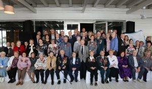 Встреча ветеранов-динамовцев в канун Дня Победы в Великой Отечественной войне