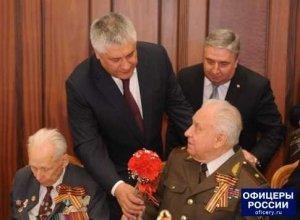 Министр внутренних дел Владимир Колокольцев поздравил ветеранов Великой Отечественной войны с Днем Победы