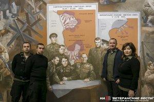Восстановлен памятник советским солдатам