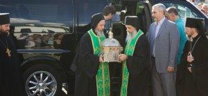 Мощи преподобного Силуана Афонского принесены в Белоруссию