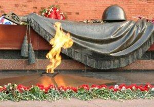 У Кремлевской стены почтили память павших