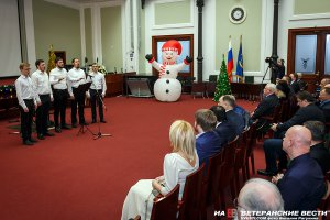 На Ильинке прошёл рождественский праздник для ветеранов