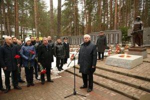 В Сестрорецке захоронили останки 21 воина