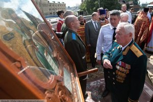 Ветераны МВД приняли участие в праздновании Дня ВДВ - Ильина Дня на Красной площади