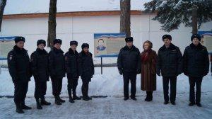 В ЦПП ГУ МВД России по Московской области  прошло торжественное мероприятие, посвященное Дню Героев Отечества