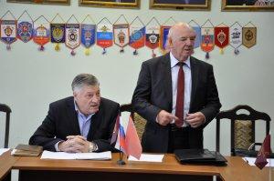 24 сентября в Центре профессиональной подготовки ГУ МВД России по Московской области состоялось заседание Правления Ассоциации ветеранов боевых действий