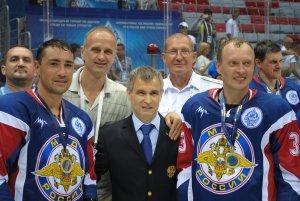 Команда МВД России - победитель «Кубка «Динамо» по хоккею среди силовых структур