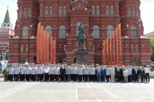 Представители руководства МВД России почтили память погибших в Великой Отечественной войне