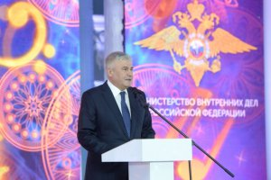 Министр МВД России поздравил с наступающим Новым годом детей сотрудников органов внутренних дел