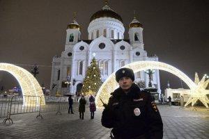 Нарушений общественного порядка во время рождественских богослужений не зарегистрировано
