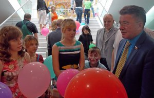 В Москве прошёл праздник для детей из детских домов и семей погибших защитников Отечества