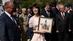 В Симферополе началось возведение памятника Екатерине II