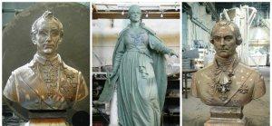 Восстановление памятника Екатерине Великой в Симферополе идет в соответствии с графиком