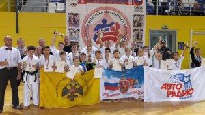 В Татарстане состязались сильнейшие каратисты