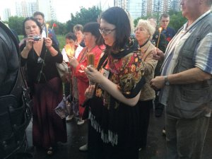 """Ветераны зажгли """"Свечу памяти"""" в годовщину начала войны"""