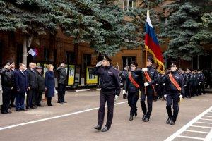 Полицейские присягнули на верность Отечеству