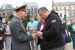 В Приморье ветераны МВД встретили участников Всероссийского автопробега «Хранители России»