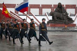 На Федеральном военном мемориальном кладбище почтили память маршала В.Петрова