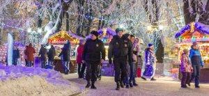 Сотрудники МВД России обеспечили правопорядок на массовых новогодних мероприятиях