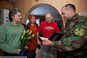 Михаила Бекетова и Константина Фетисова посетили ветераны Ассоциации ветеранов боевых действий МВД России