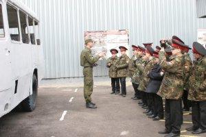Кадеты в гостях спецназа МВД