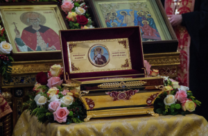 Мощи Святого князя Владимира - в Челябинске