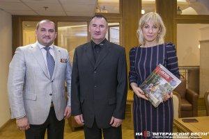 Вячеслав Калинин поблагодарил Марию Захарову за поддержку ветеранских проектов