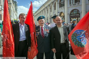 В столице России прошла акция для ветеранов и членов их семей