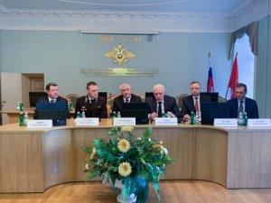 Владимир Колокольцев представил в Петербурге начальника полиции города