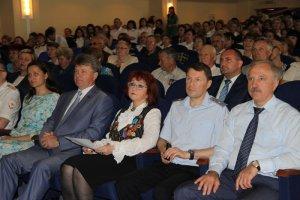 Торжественное мероприятие посвященное празднованию 80-летия подразделений по делам несовершеннолетних МВД России