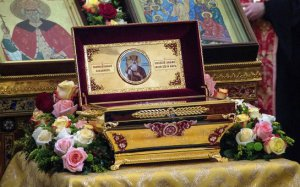 Мощи Святого князя Владимира - в Петербурге