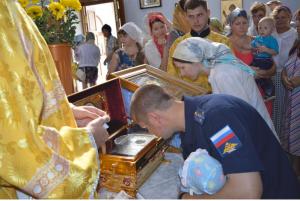 Мощи Святого Князя Владимира - Крестителя Руси - прибыли в Ахтубинск